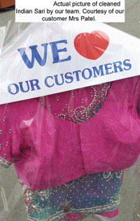 Indian Saree Ethnic Dry Cleaning Example Patel